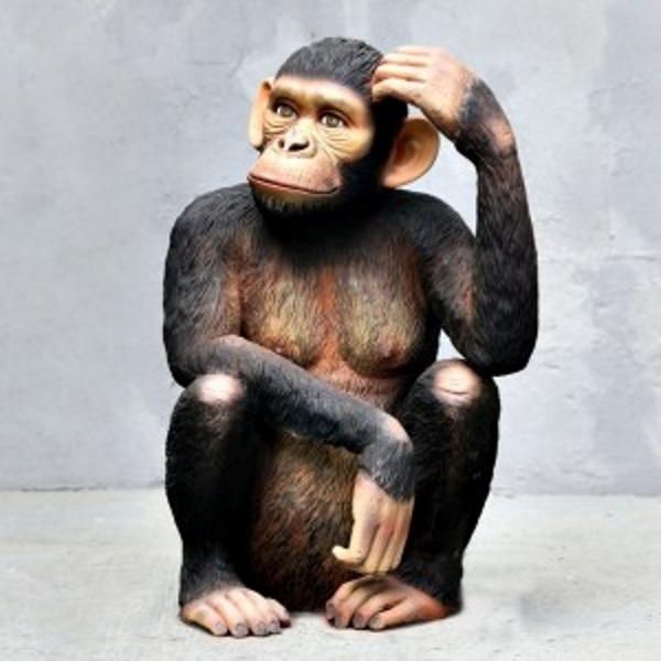 Chimpanzee Statue Lifesize Models Props Attractions